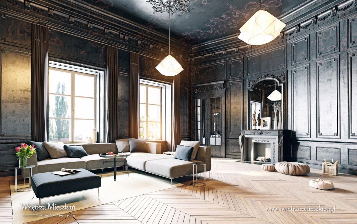 Wn trza mieszka blog wn trzarski nowoczesne wn trza for Arredamento casa antica